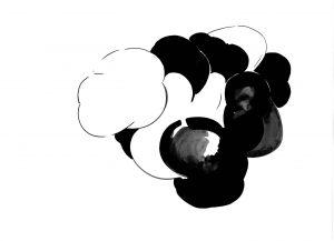 Les Schliesser – »Kartoffelzeichnungen« – »dicke Wolke«