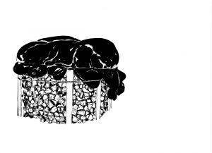 Les Schliesser – »Kartoffelzeichnungen« – »Verdichtung«