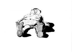 Les Schliesser – »Kartoffelzeichnungen« – »einige Jahre später 2«