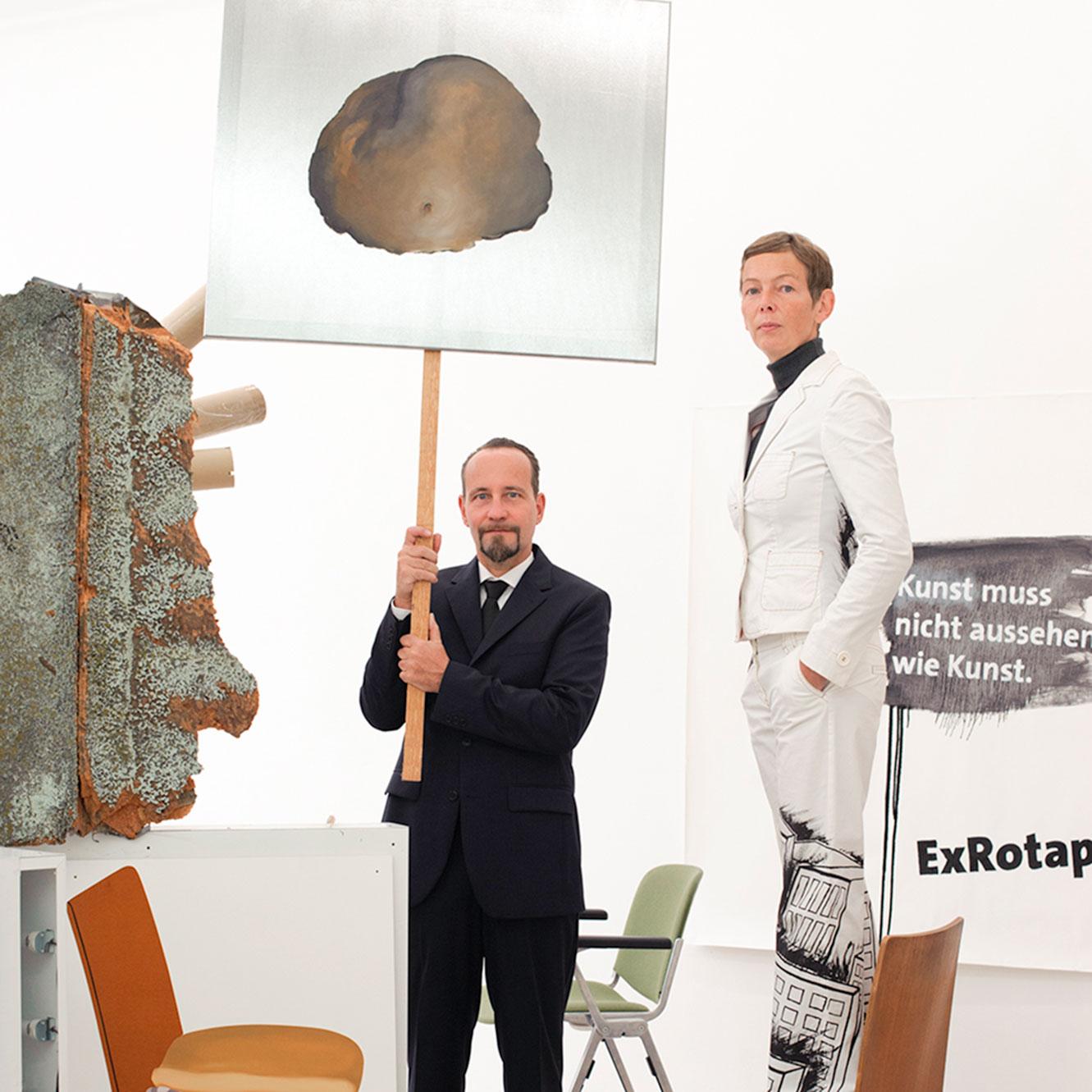 Les Schliesser, Daniela Brahm, 2011, Photo Kristin Loschert