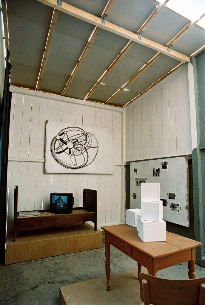 Les Schliesser – »Idealne Niewidoczne Muzeum«, Installationsansicht, Zamosc 2006