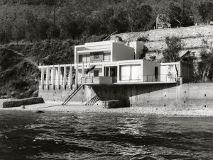 »Haus Ziethen«, Limone, Lake Garda Architects Klaus Kirsten and Heinz Nather, 1960 (Photo: Kirsten & Nather)