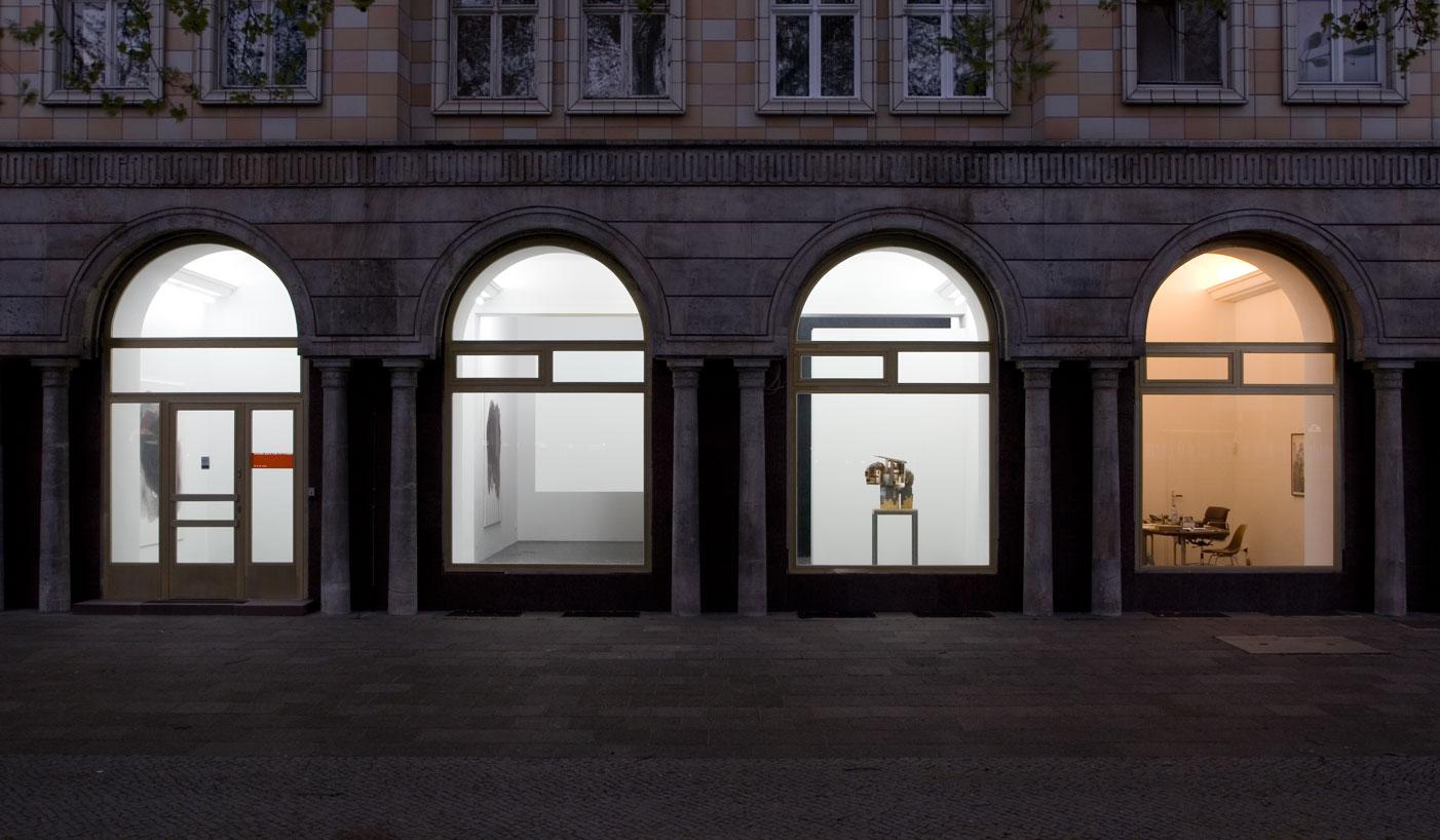 Les Schliesser – »Alte Arbeiten«. Installationsansicht der Galerie Puttkamer
