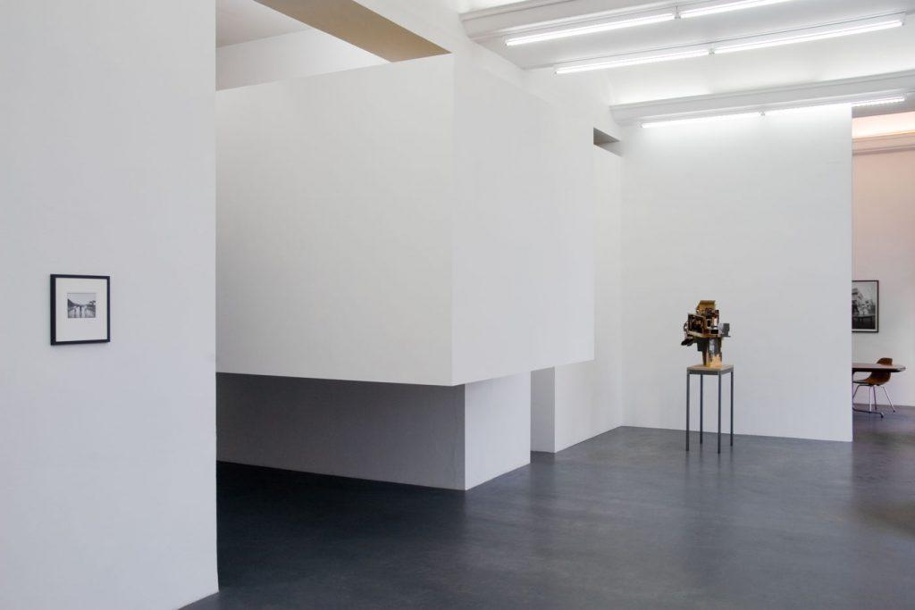 Les Schliesser – Installationsansicht mit »Potpourri CA (libeskindkohlhaasgehry)«